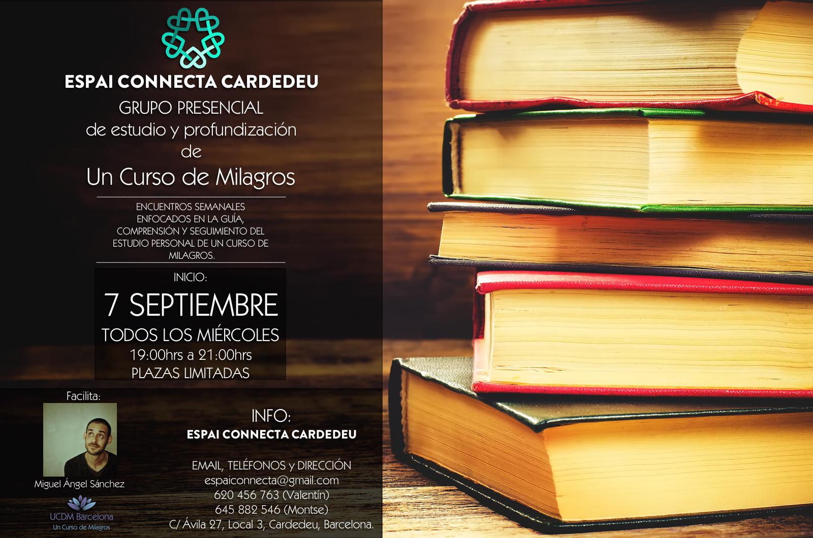Grupo de estudio y profundización en ESPAI CONNECTA CARDEDEU Septiembre 2016