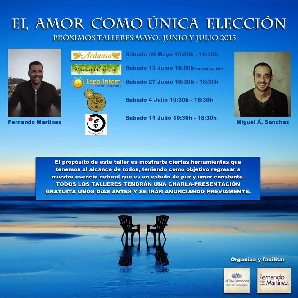 un curso de milagros ucdm barcelona