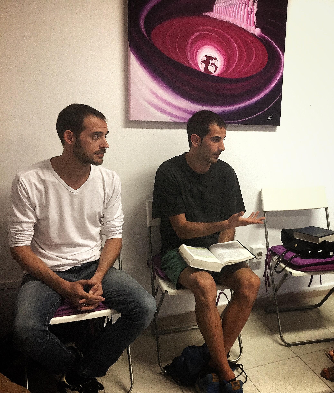 Grupo de estudio Associació Canviem Sta. Perpetua SEPTIEMBRE 2016 invitado Angel Garcia